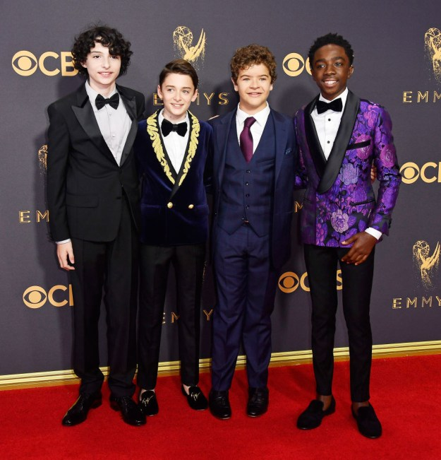 Tonight was no different! The guys of the cast showed up to the 69th Annual Emmy Awards looking beyond adorable.