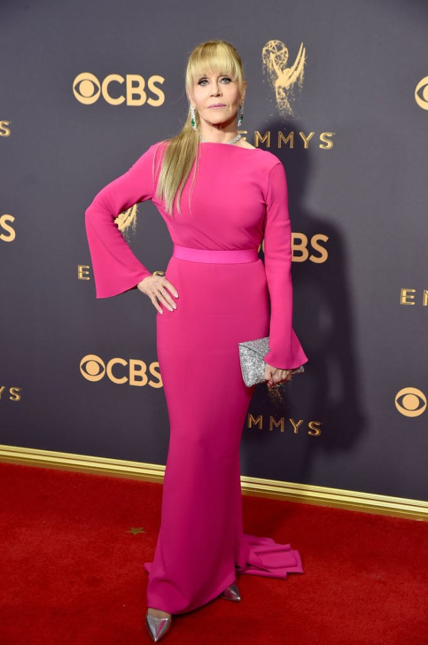 She is also 79 freakin' years old, which you wouldn't know if you saw her on the Emmys red carpet.