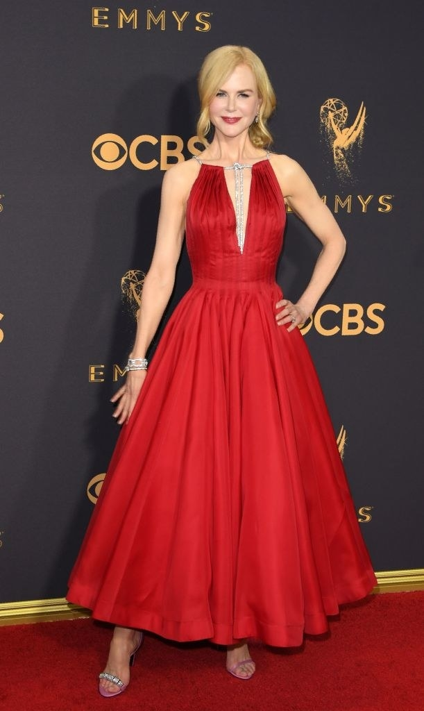 Nicole Kidman showed up to the Emmys looking like the damn QUEEN that she is.