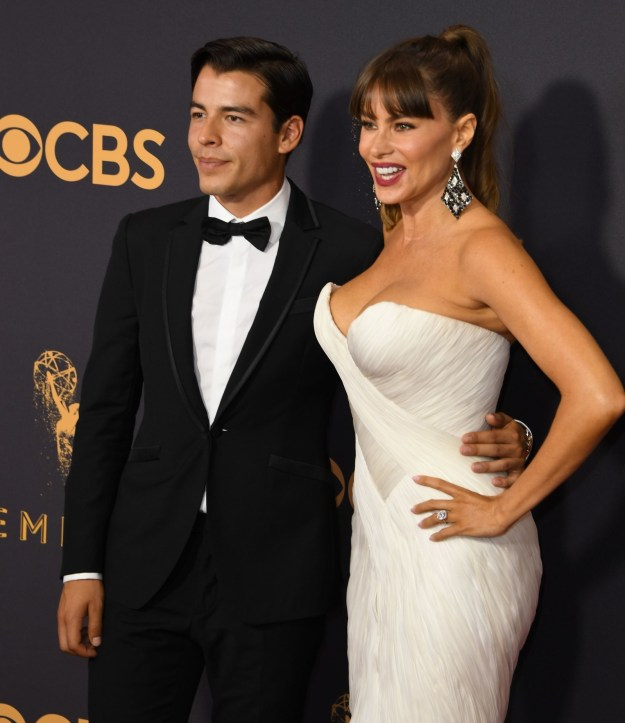 But this is not a story about how Sofia Vergara is really, really, really, ridiculously good looking. That's old news! This is a tale about Sofia's Emmys date — her 26-year-old son Manolo Gonzalez-Ripoll Vergara. Because JUST LOOK AT HIM: