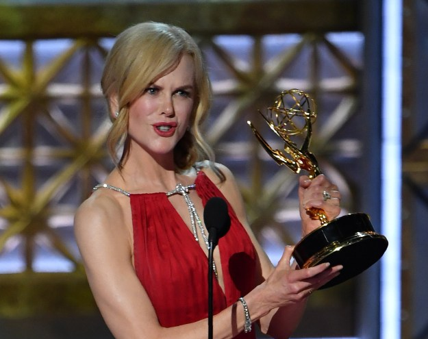 In her acceptance speech, Kidman thanked many people, including her co-stars, the crew, HBO, and her family.