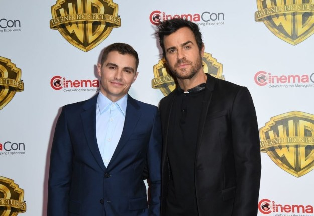 The incredibly talented and beautiful Justin Theroux and Dave Franco star in the new animated film Lego Ninjago Movie, and they're stopping by BuzzFeed to answer your burning questions!