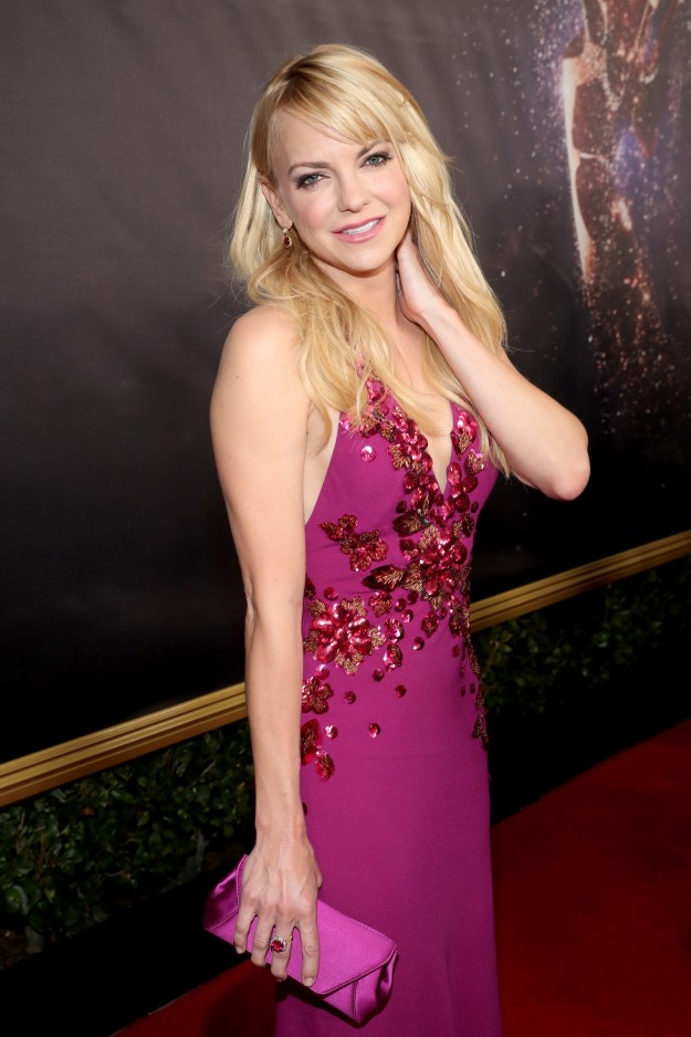 Last night at the Emmys, Anna Faris made her first public appearance since announcing her separation from Chris Pratt.