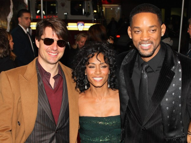 And it's no other than Jada Pinkett Smith, a close friend of Scientology member Tom Cruise.
