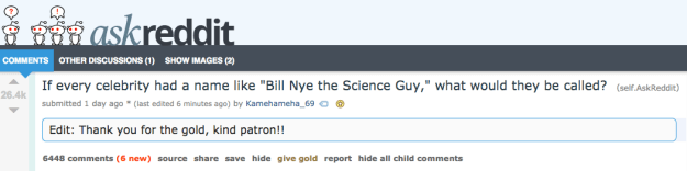 Got it? Good. Because Redditor Kamehameha_69 asked a very important question, and you're gonna want to sing the answers to the tune of the Bill Nye theme song.
