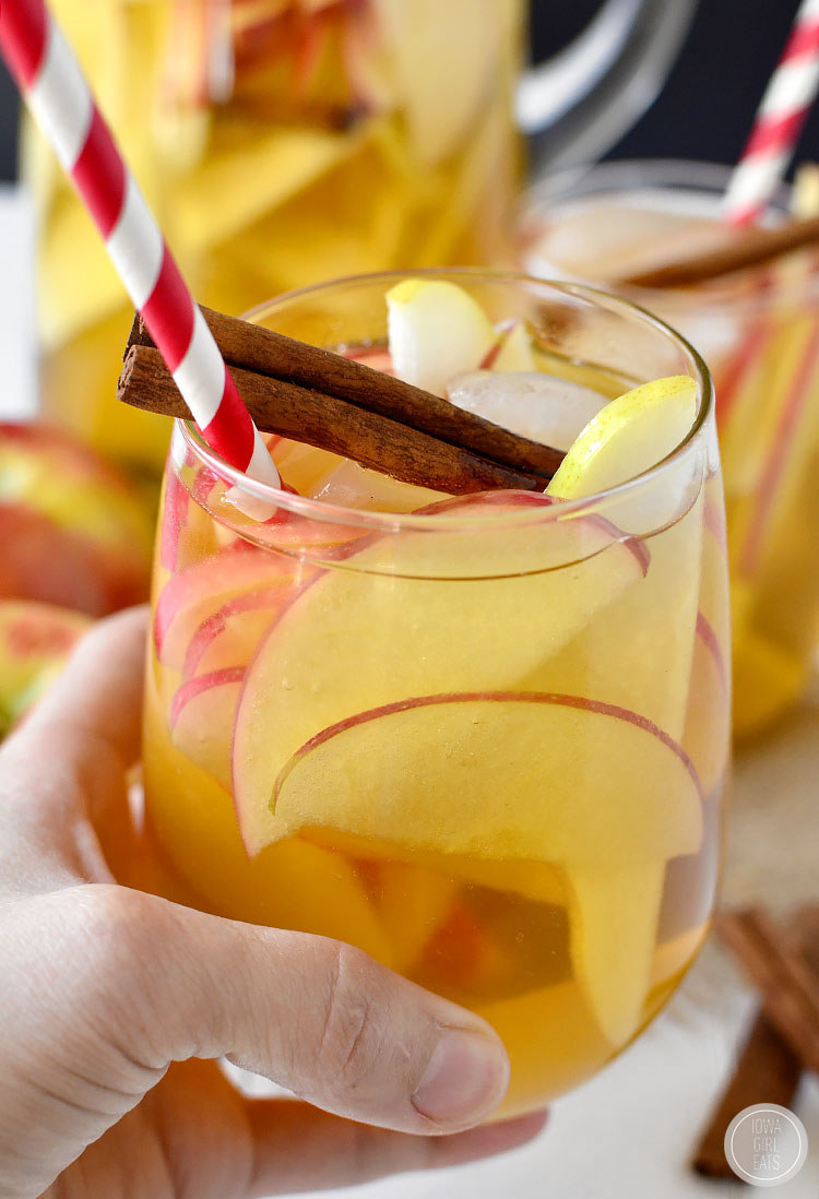 Mix hard cider with a crisp white like Sauvignon Blanc or Chablis to make this fizzy, fruity sipper. Get the recipe.