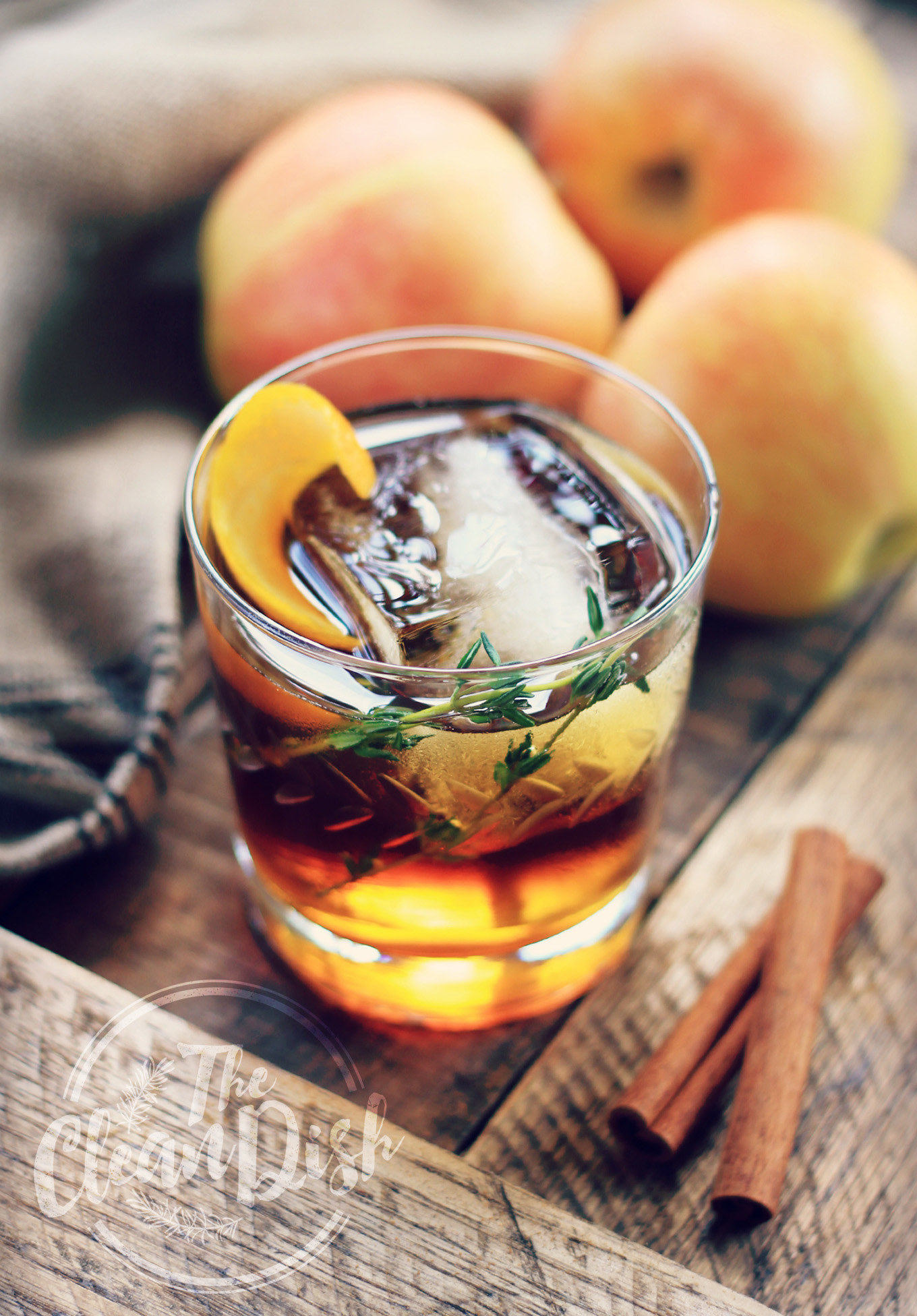 This recipe calls for cinnamon infused apple cider, which sounds fancy AF, but it's really just two ingredients. Get the recipe.