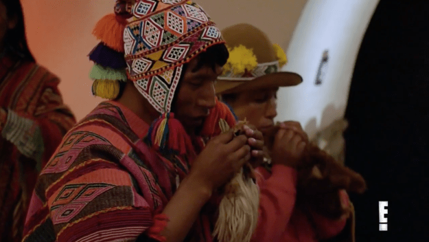 This season of Life of Kylie followed Kylie and her BFF Jordyn as they did a number of ~interesting things~, like going to see a Shaman.