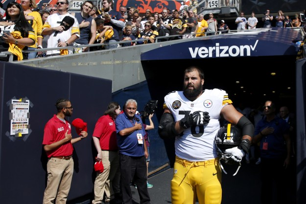 But a day later, Villanueva expressed embarrassment about the situation, saying that it was actually an accident that he ended up standing by himself during the national anthem.