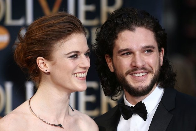 Dear citizens of planet Earth, please give me your undivided attention because Kit Harington and Rose Leslie are freakin' engaged!