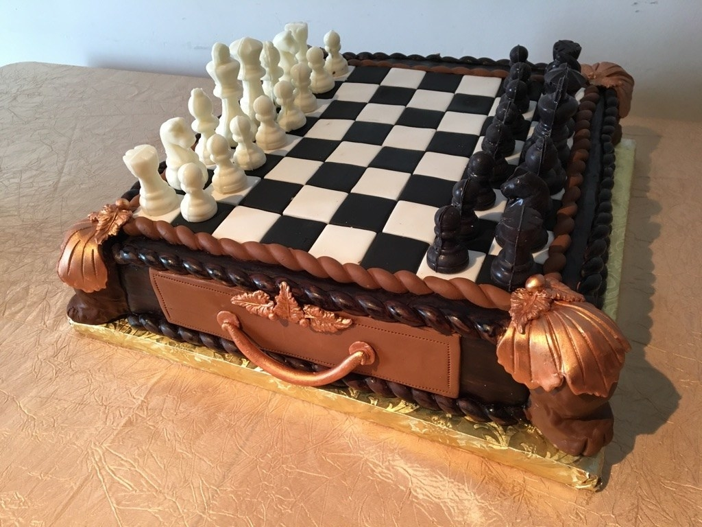 Seriously, you could play a full game of chess with this.