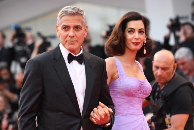 Well, George Clooney just made it clear that he and his wife Amal want none of that business.
