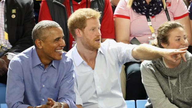 It's Harry and Barry, together again!