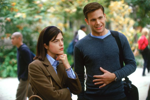 Well, remember Warner? The hunk who dumps Reese's Elle Woods for the more ~serious~ brunette, played by Selma Blair?