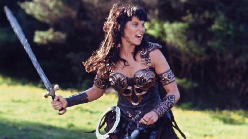 Xena começou como coadjuvante de Hércules e hoje é muito mais famosa que ele.