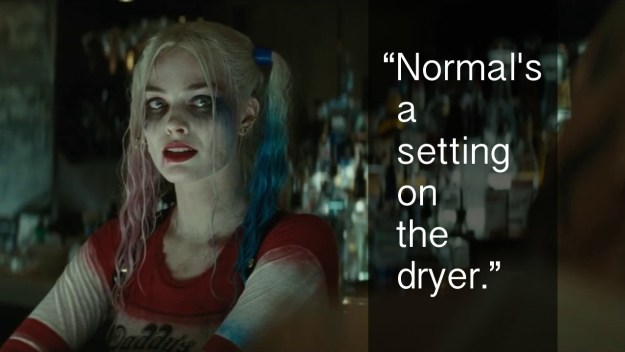 When Harley Quinn got ~deep~ in Suicide Squad.