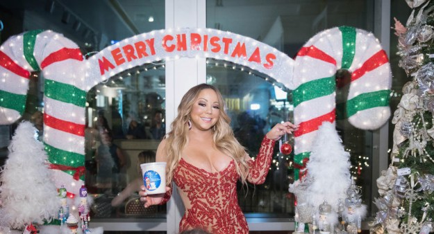 There are few things in this world I love as much as dogs, but two of them are Mariah Carey and Christmas.