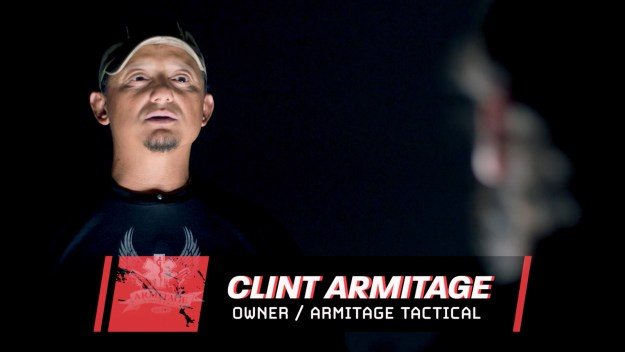 Clint Armitage is a former SWAT member who now teaches tactical training. He has years of experience and was very confident he would win Mike's strange challenge.