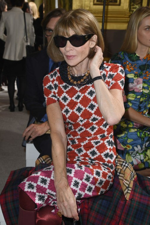 You probably know Anna Wintour. She's the editor-in-chief of Vogue, the trailblazer of wearing sunglasses inside, and the alleged inspiration behind the The Devil Wears Prada.