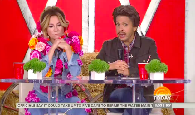It's Halloween on the TODAY show, and this year Kathie Lee and Hoda played it safe by going as Miley Cyrus and Blake Shelton.