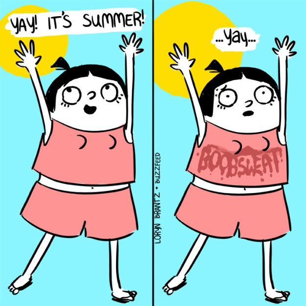 This hot weather reality: