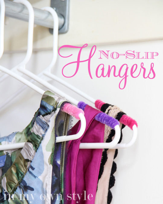 Did you have a genius idea that solved a persistent problem? Like adding pipe cleaners to make no-slip hangers?