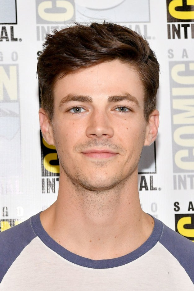 """Grant Gustin, lead actor in The Flash, weighed in, too. """"Hearing of different men, again and again, especially in the industry that I work in, treating women as if they are less than, and both physically and emotionally abusing them has become a daily occurence,"""" he wrote. """"This is not ok."""""""