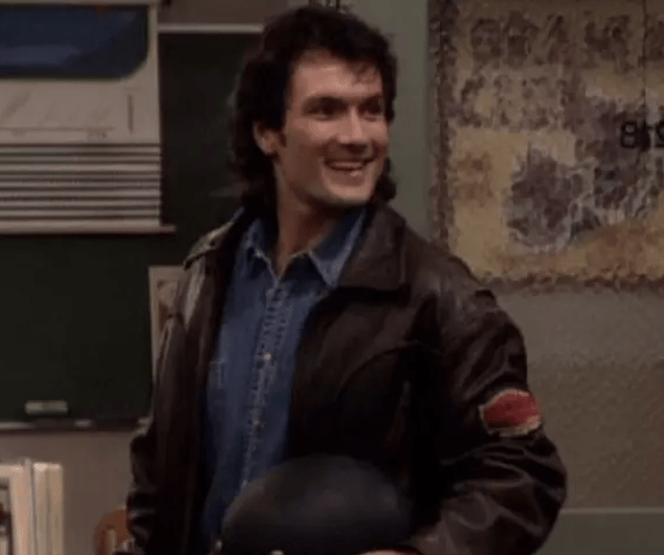 31. The motorcycle teacher with the mullet from Boy Meets World
