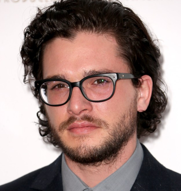 Kit probably put a stop to all schoolyard bullying by wearing these sexy AF glasses: