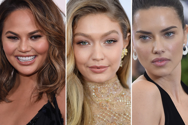 In third, fourth and fifth for the year's highest-earning models are Chrissy Tiegen ($13.5 m), Adriana Lima ($10.5 m) and Gigi Hadid ($9.5 m).