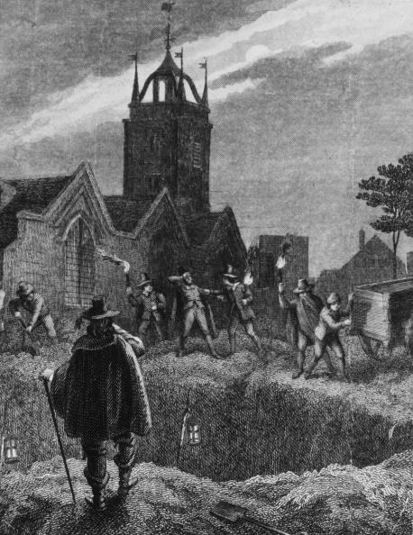 The first wave of the plague in England came in the 1300s, with outbreaks happening periodically throughout the century, wiping out thousands of otherwise healthy people each time. The second major wave was in the 1600s (though England was never really free of the plague in between these periods), during which 15% of London's population (around 100,000 people) was wiped out by the plague in just 18 months – between 1665 and 1666.