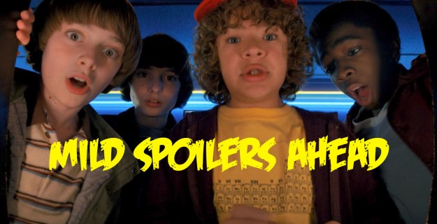 So, this isn't a ~major~ spoiler, but if you haven't watched any of Stranger Things 2 yet, then A) you'll probably want to bookmark this for later and B) WHAT ARE YOU DOING READING THIS POST INSTEAD OF WATCHING ST RIGHT NOW?!