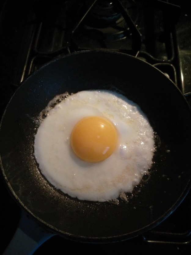 This cartoon-looking egg: