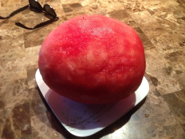 This rind-less watermelon: