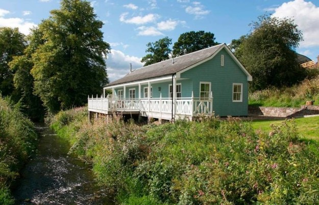This beautiful riverside cottage in Crieff.