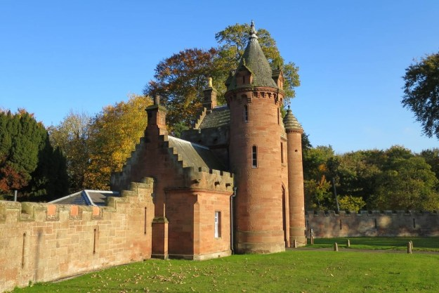The Gatehouse to Ayton Castle in Berwickshire.