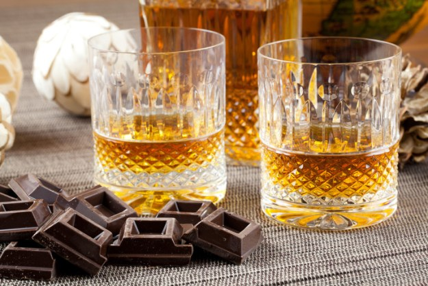 Maybe you just want whiskey and a slab of chocolate.