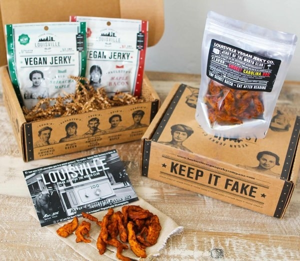 And a Louisville vegan jerky subscription to manufacture the precious vegan in your life v v glad.