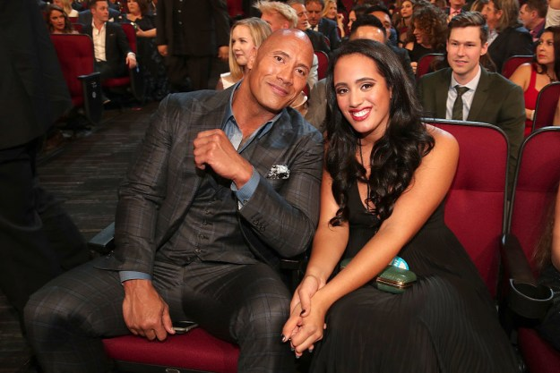 So it looks like 2018 is gonna be a poppin' year for the fam — it was recently announced that Dwayne's eldest daughter, Simone, will be next year's Golden Globes Ambassador.