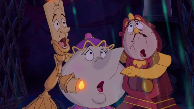 And then we have the enchanted objects — Lumière, Cogsworth, Mrs. Potts — and yes, even Chip. They're all assholes, too.
