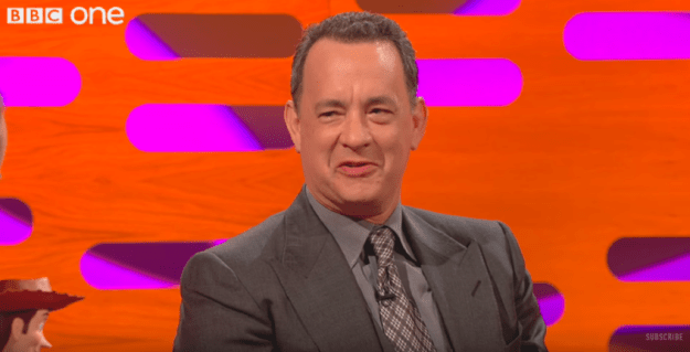 """""""No, it's my brother Jim,"""" Hanks laughs. """"There are so many computer games and video things and Jim just works on those all year long."""""""
