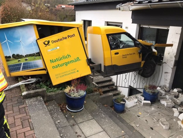 This delivery driver who went the extra mile:
