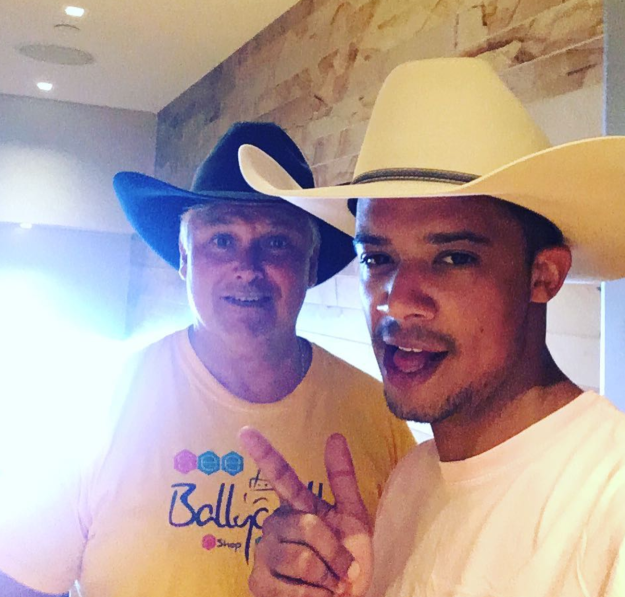 When Jacob Anderson (Grey Worm) and Conleth Hill (Varys) got their cowboy on, and Nathalie and Emilia were here for it.