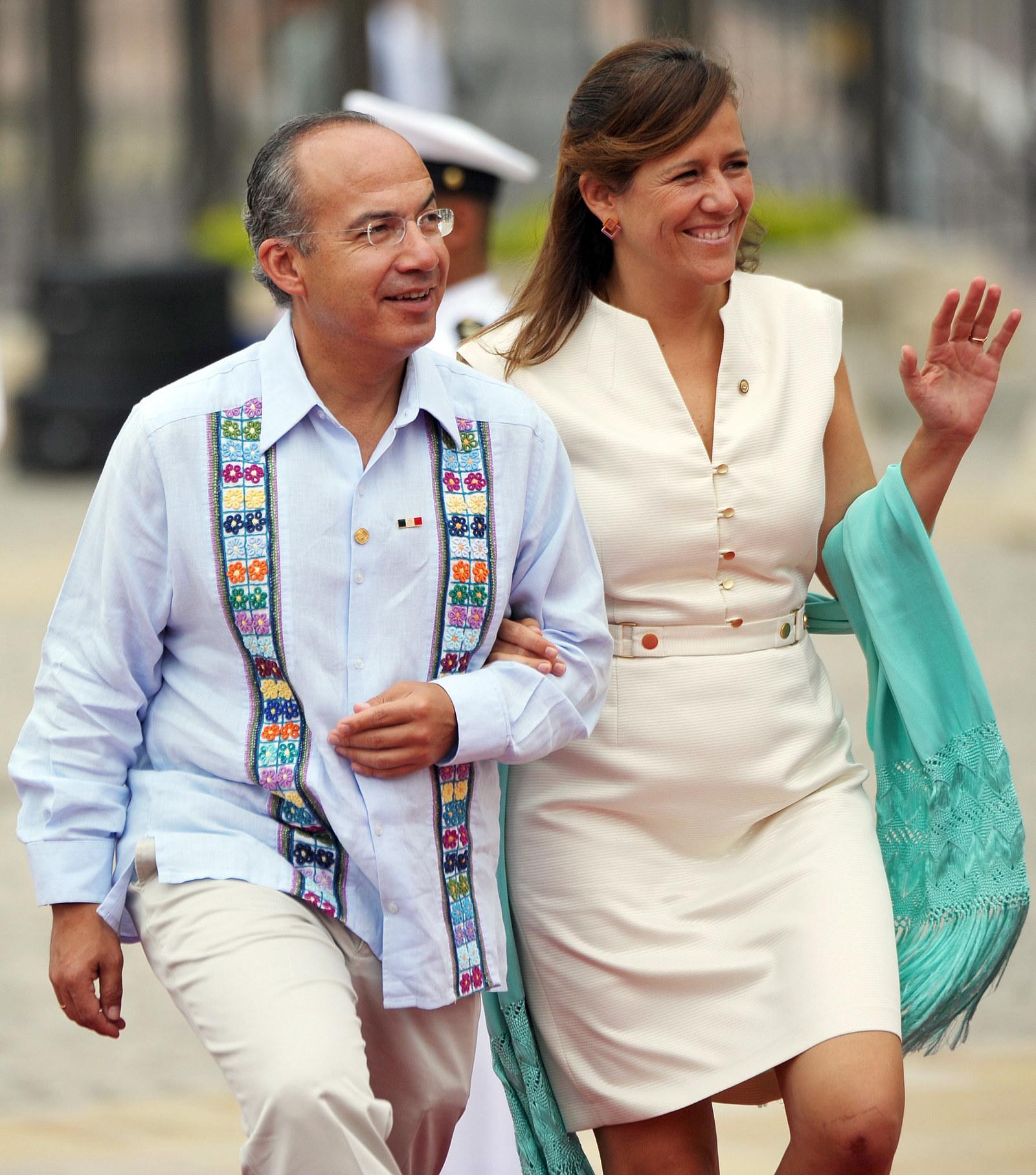 Calderón y Zavala, en 2012.