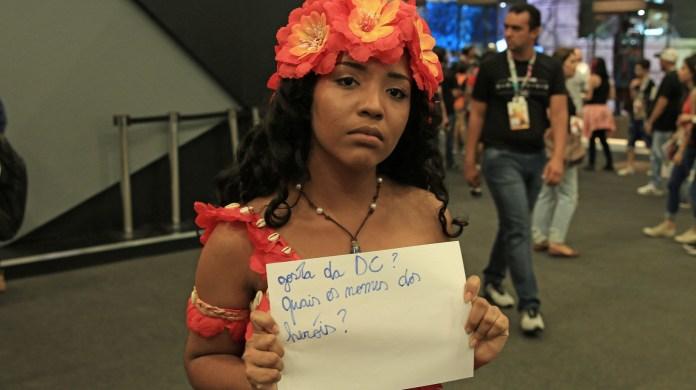 A Ana Beatriz veio fazer cosplay, não fazer prova de
