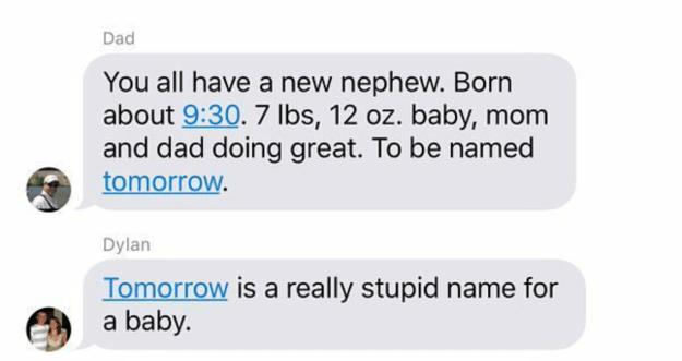 Dumb names: