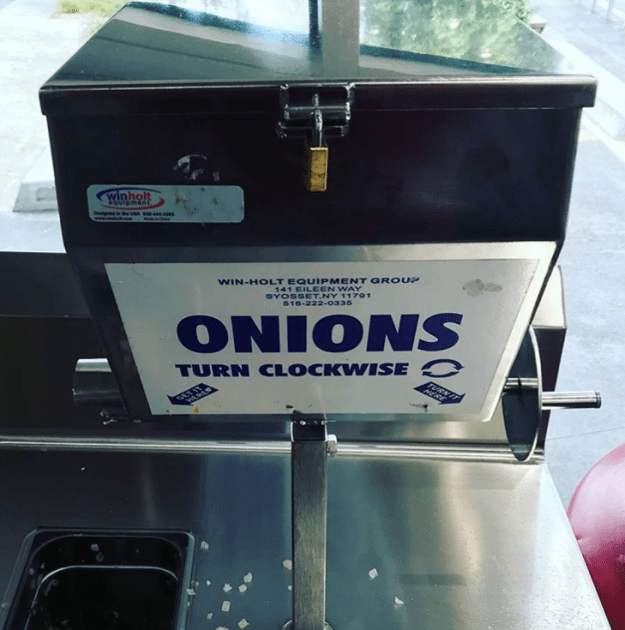 Spinning the onion dispenser is easily one of your favourite parts of a Costco trip.