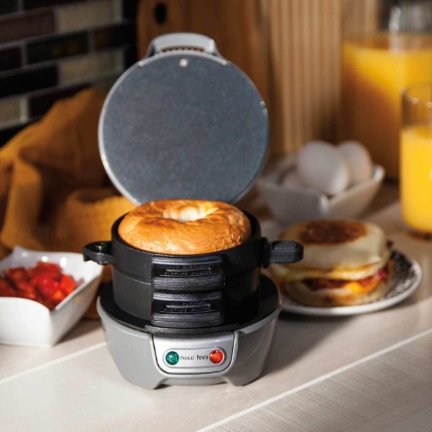 A breakfast sandwich maker for saving you a trip to McDonald's?