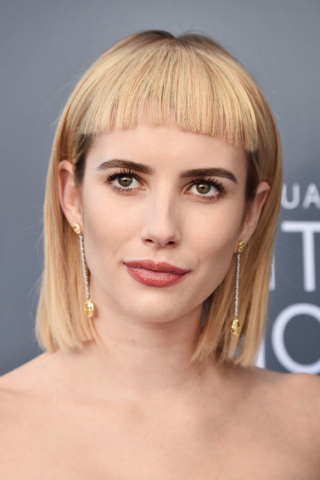 ...and she debuted a brand new bangs *LEWK*: