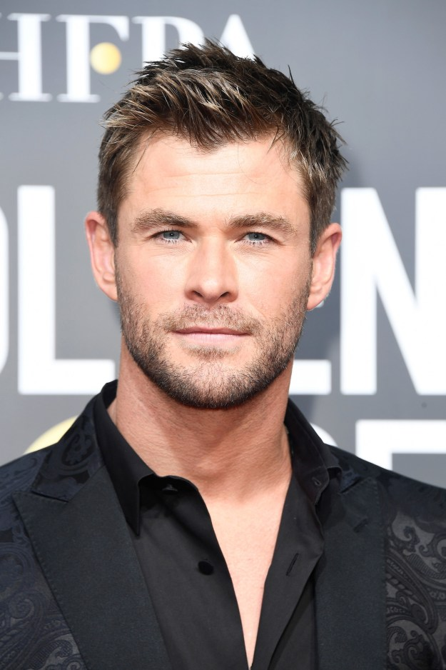 We're all familiar with Chris Hemsworth, right?